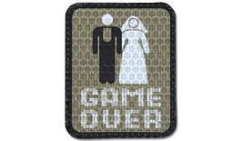Combat-ID - Patch GAME OVER - Gen I (для страйкбола)
