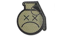 Combat-ID - Patch Sad Frag Grenade - Coyote Tan - Gen I (для страйкбола)