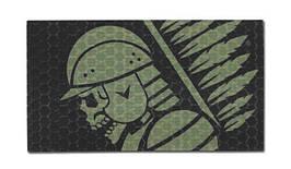 Combat-ID - Patch Hussar - OD / Black - Gen I (для страйкбола)