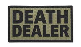 Combat-ID - Patch Death Dealer - Coyote Tan - Gen I (для страйкбола)