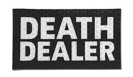 Combat-ID - Patch Death Dealer - Black - Gen I (для страйкбола)