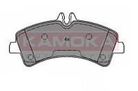 Колодки тормозные задние Mercedes Sprinter 06'->;VW Crafter 06'-> (5T) (KAMOKA). JQ1012090