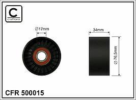 Ролик натяжной HONDA Civic VII 2.0i 01-05 (CAFFARO). 500015