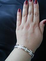 Срібний браслети з позолотою жіночий Дарина
