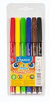 Фломастеры смываемые Marco Super Washable 6 цветов 1690-6 FMв