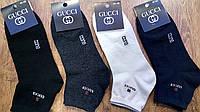 """Чоловічі стрейч.шкарпетки в стилі""""Гуччі А""""Туреччина(41-45),середні, фото 1"""