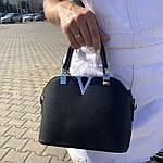 Женская сумка маленькая черная (1050), фото 3