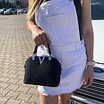 Женская сумка маленькая черная (1050), фото 4