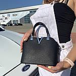 Женская сумка маленькая черная (1050), фото 6