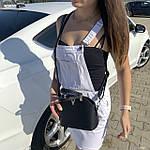 Женская сумка маленькая черная (1050), фото 7