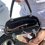 Женская сумка маленькая черная (1050), фото 8