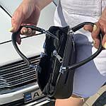 Женская сумка маленькая черная (1050), фото 10