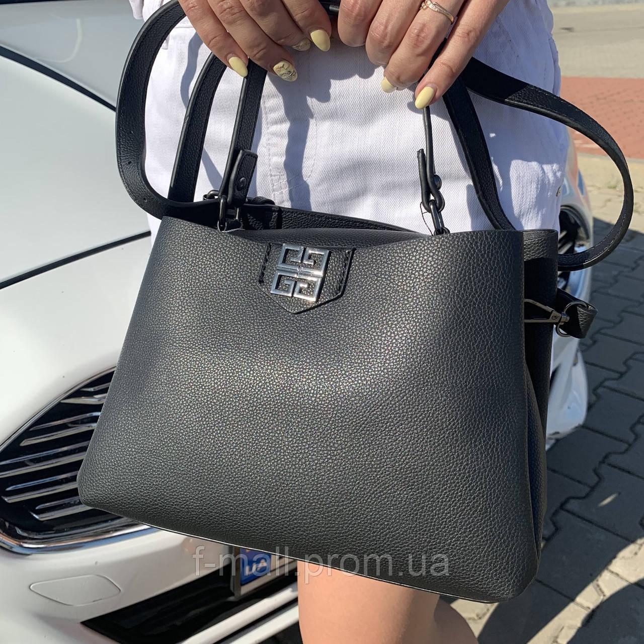 Женская сумка  черная (1070)