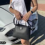 Женская сумка  черная (1070), фото 3