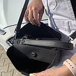 Женская сумка  черная (1070), фото 7