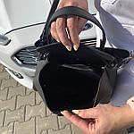 Женская сумка  черная (1070), фото 9