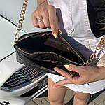 Стильная женская сумка черная (1030), фото 4