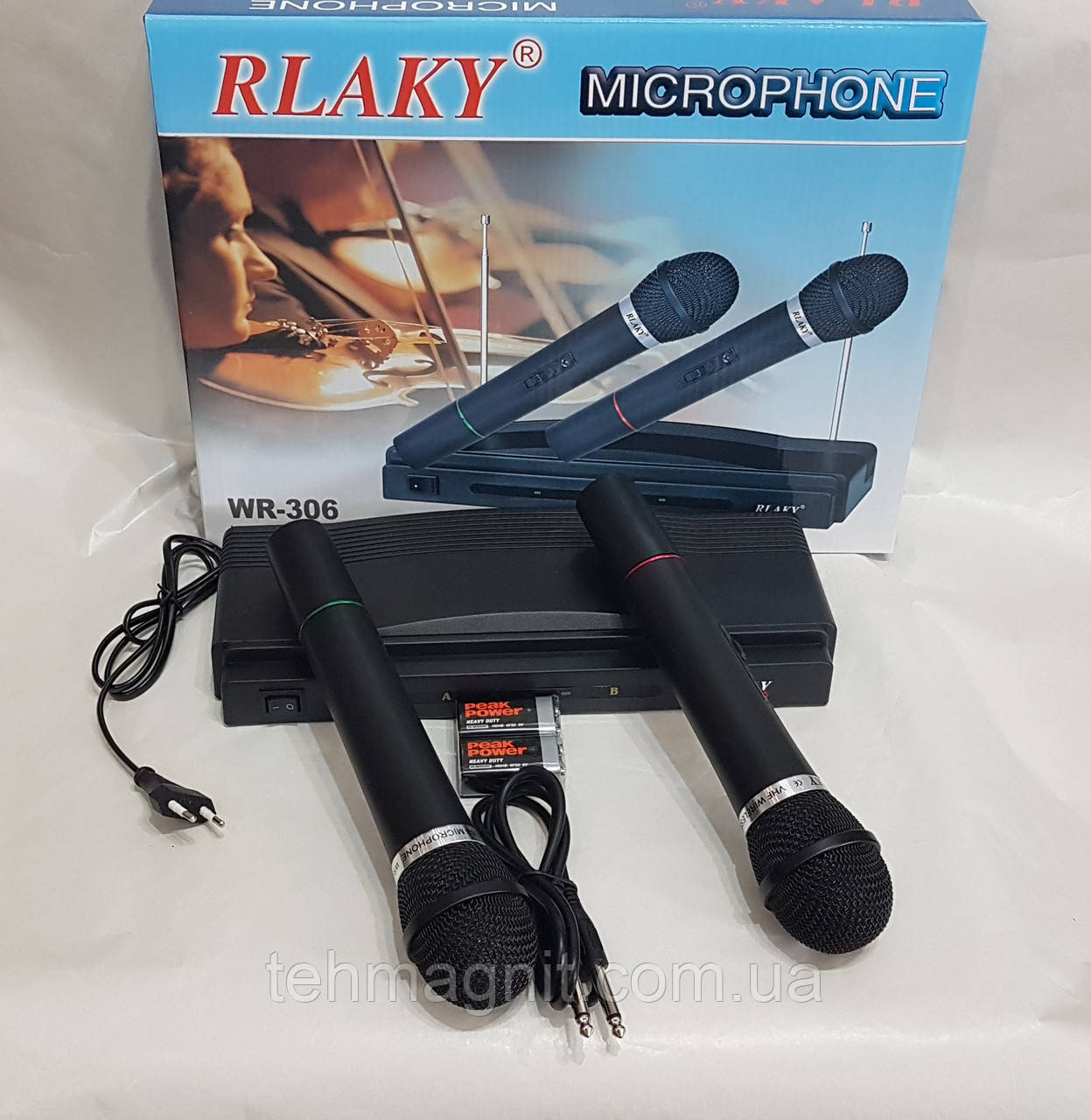 Микрофоны Rlaky WR-306, беспроводные микрофоны с базой