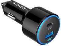 Автомобильное зарядное устройство Anker PowerDrive II 1xPD & 1xPIQ2.0 Black, фото 1