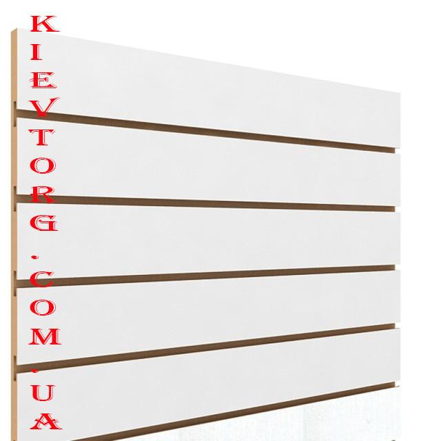 Экономпанель экспопанель для торгового магазина 100-122 см Шаг 10 см в комплекте со вставками