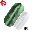 Зеркальная пудра для дизайна ногтей  Nails MOLEKULA Mirror powder 1г, фото 4