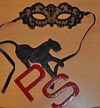 Обворожительная кружевная маска 15690, фото 2