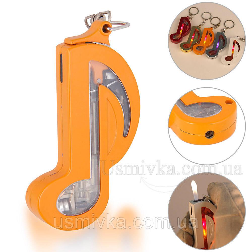 Элитная зажигалка скрипичный ключ ZG215600