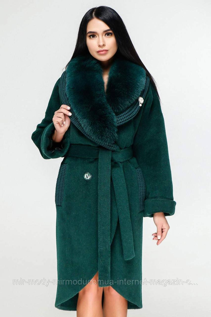 Пальто П-1089 н/м Шерсть пальтовая  113-1712 Тон 268 с 44 по 54 размер (фати)