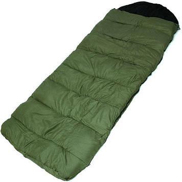 Спальний мішок, в комплекті з карематом, спальник, зимовий, ковдру, теплий з капюшоном