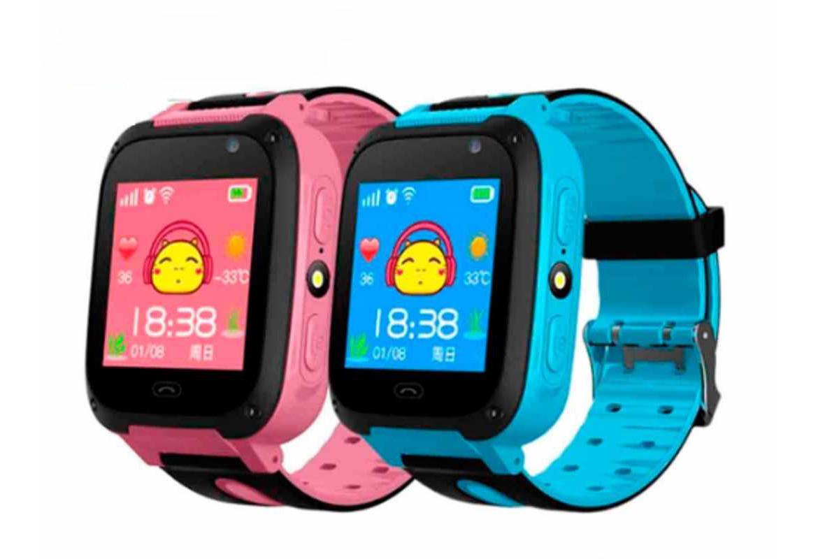 Детские GPS смарт-часы с телефон сим-картой (Корея)
