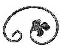 Кованый Завиток 12.700 (150х100х12х6мм декор)
