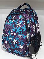 """Школьный рюкзак ранец фиолетовый Dolly 535 для девочки """"Ромашки"""" ортопедический 30х39х21"""