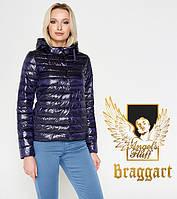Воздуховик Braggart Angel's Fluff 24992 | Куртка женская весенне-осенняя фиолетовая