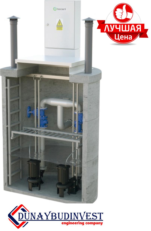 КНС з високоміцного залізобетону (заглибні насоси) 1000-1500 м3/год