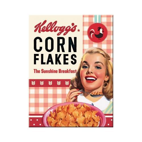 Магнит Nostalgic-Art Kelloggs - Girl Corn Flakes (14368)