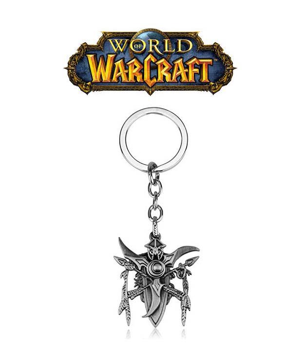 Брелок раса ночных эльфов Варкрафт / World of Warcraft