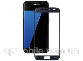Стекло дисплея Samsung G930F S7 Black (для переклейки)