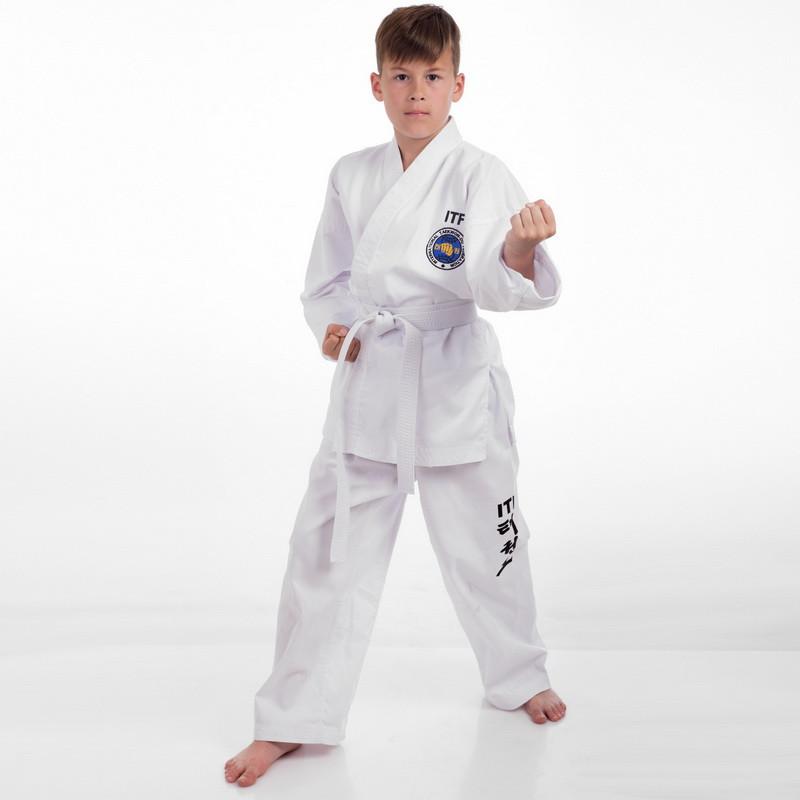 Добок кимоно для тхэквондо ITF 2 (рост 170) МА-5468 (OF)