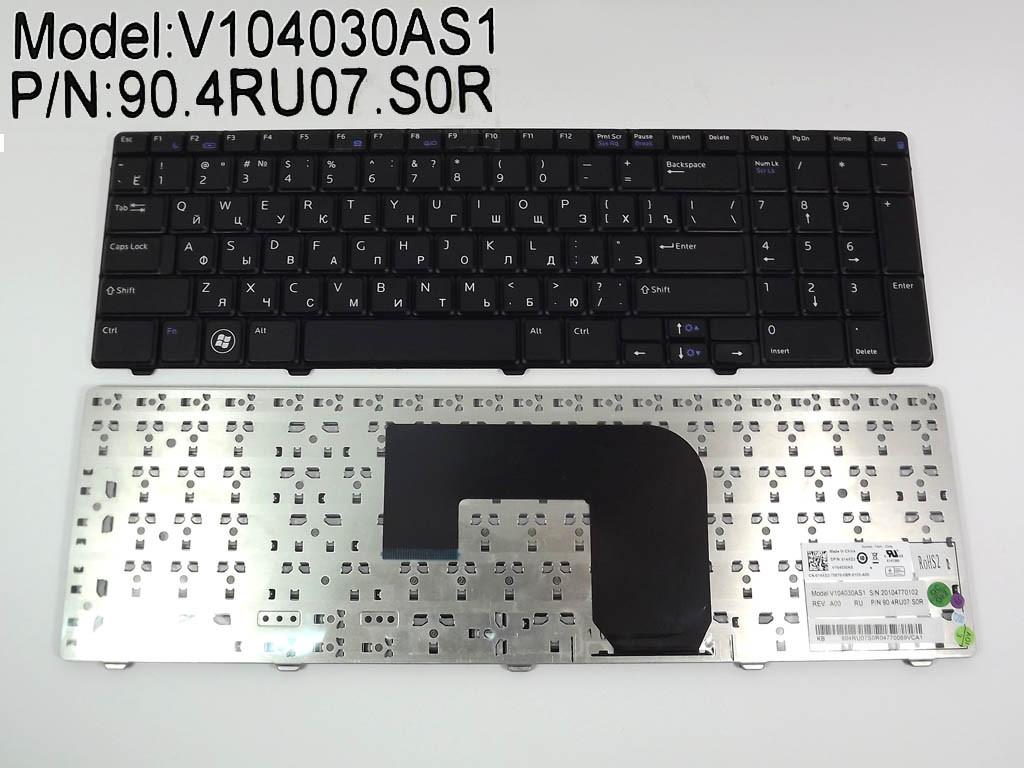 Клавиатура для ноутбука Dell Vostro 3700 V3700 ( RU black)