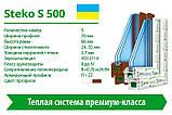 Вікно STEKO S500, фото 2