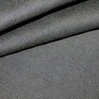Дралон однотонный бежево-черный тефлон для уличных штор, садовых качелей, гамак-ткань