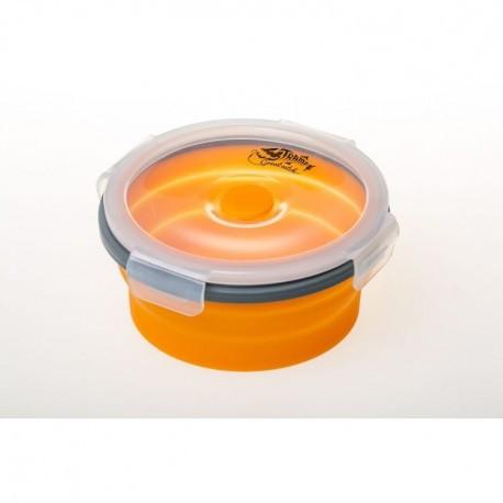 Контейнер складаний з кришкою-засувкою Tramp (500ml) (800ml) orange