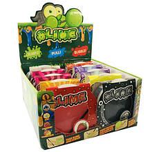 Слайм Воздушный Вкусняшные Запашные Фрукты с пузырками Slime Fruits 500 мл