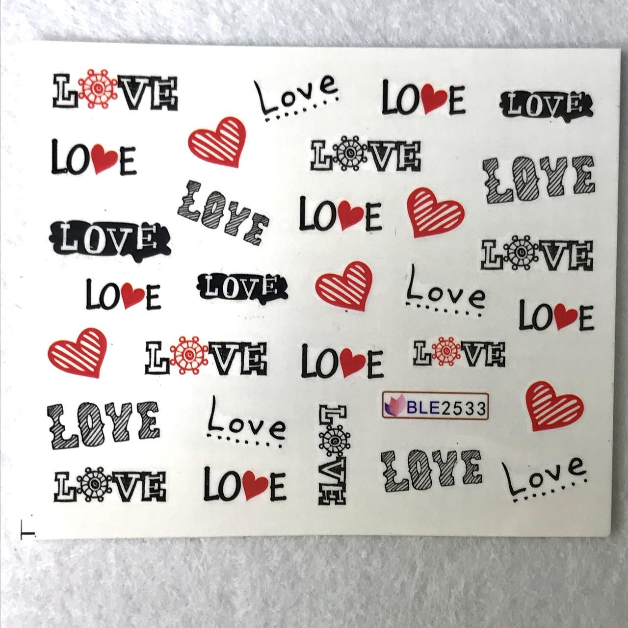 Слайдер Love BLE 2533