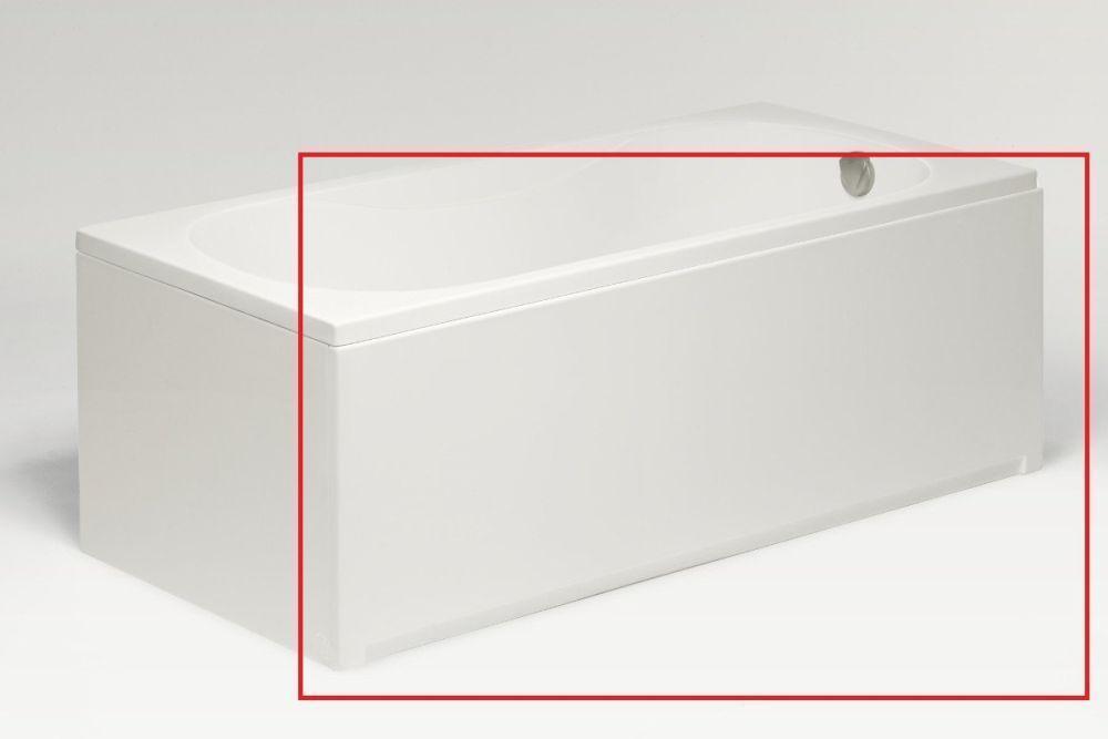 Фронтальная панель для ванн Excellent Ava Comfort 150 белая, правая