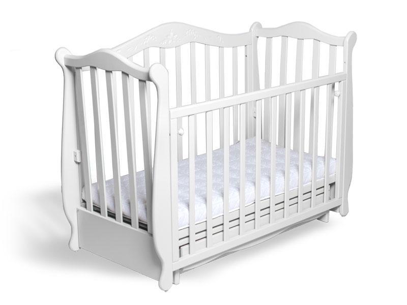 Кроватка Колисани Жасмін біле