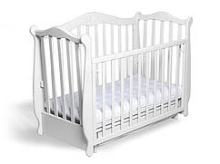 Кроватка Колисани Жасмин белая