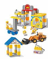 Набор строительных блоков для мальчиков PWTOYS в чемодане OZ