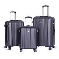 Набор чемоданов David Jones BA-1028-3B 3 шт. графитовые