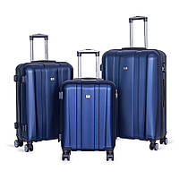 Набор чемоданов David Jones BA-1028-3B 3 шт. синие